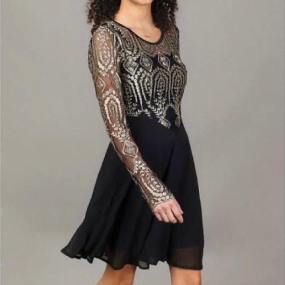 1ef3c07eaa Altar d State Dresses   Skirts - Altar d State Holiday Gold   Black